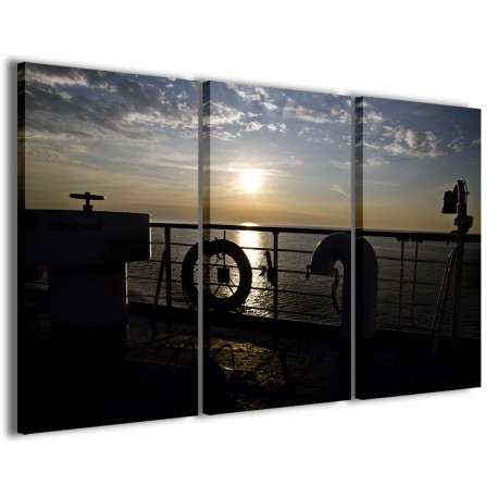 Sunset From The Ship 120x90 - 1