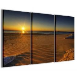 Sunset On The Beach 120x90