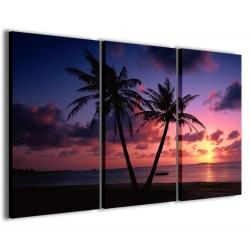 Tropical Sunset II 120x90