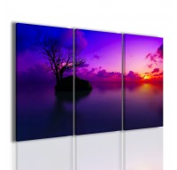 Blu Tree | Quadri Moderni | Paesaggi