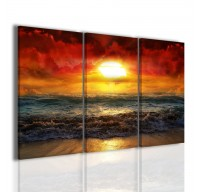 Red Sun II | Quadri Moderni | Quadri paesaggi