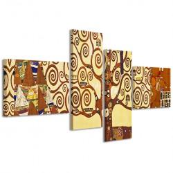 Gustav Klimt - L'Albero della Vita 160x70