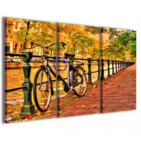 Bike in Amsterdam 120x90