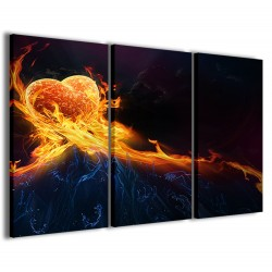 Love Fire 120x90
