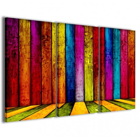 Multicolored Wooden 120x90