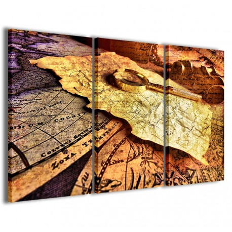 Mysterious Maps 120x90