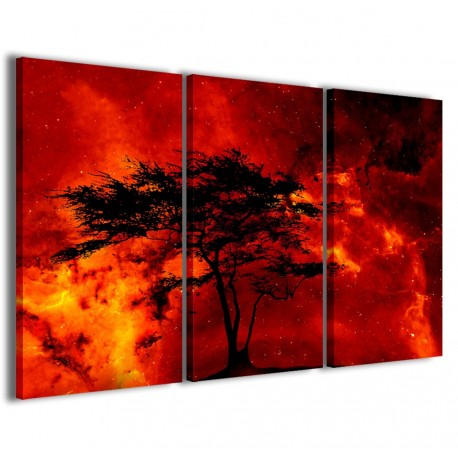 Tree and Fire 120x90 - 1