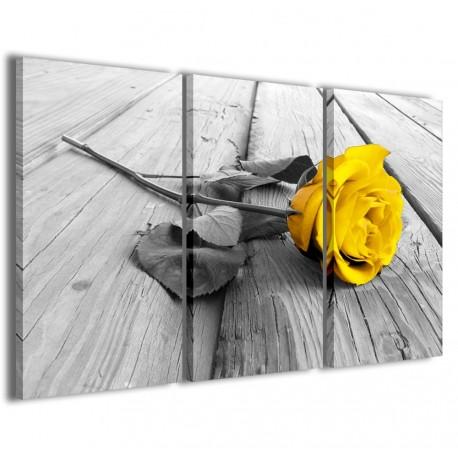 Yellow Rose Wood 120x90 - 1
