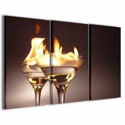 Flaming Cocktail 120x90
