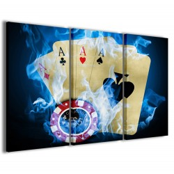 Poker Game II 120x90