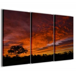 African Sunset 120x90