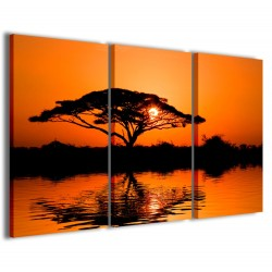 Beatiful African Sunrise Reflected 120x90