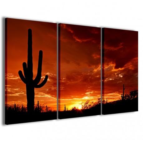 Cactus at Sunset 120x90 - 1