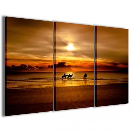 Horses Sunset 120x90 - 1