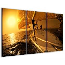 Sailing Boat 120x90