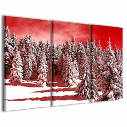 Snowy Forest 120x90