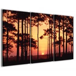 Sunset Through The Trees 120x90