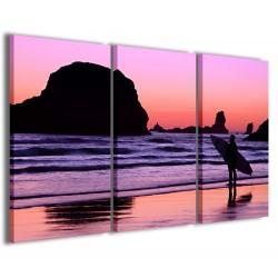 Surf Sunset 120x90