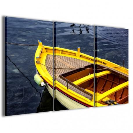 Yellow Boat 120x90 - 1