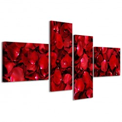 Red Rose Petals 160x70