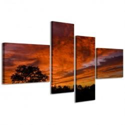 African Sunset 160x70