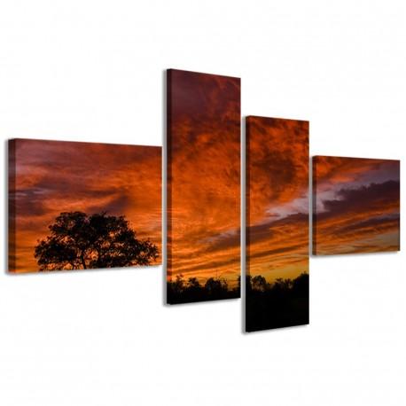 African Sunset 160x70 - 1