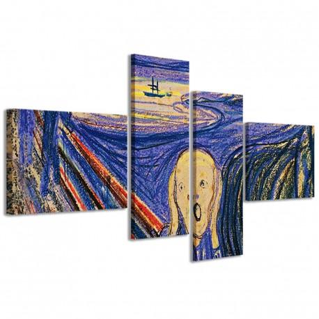 L'Urlo di Edward Munch 160x70 - 1