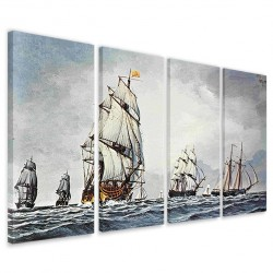 Fleet at Sea 160x90
