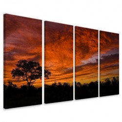 African Sunset 160x90