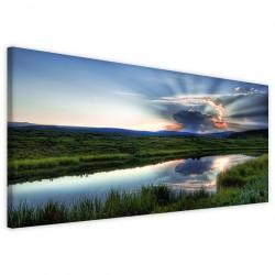 Lake Landscape 40x90