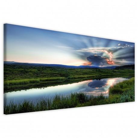 Lake Landscape 40x90 - 1