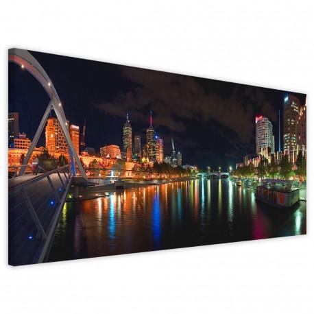 Melbourne River Panoramic 40x90 - 1