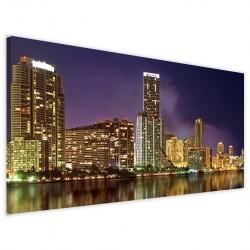 Panoramica Miami Skyline 40x90