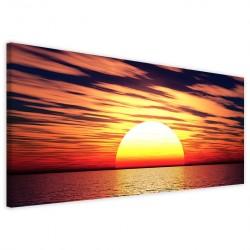 Sunset Scenary 40x90