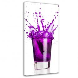 Violet Cocktail 90x40
