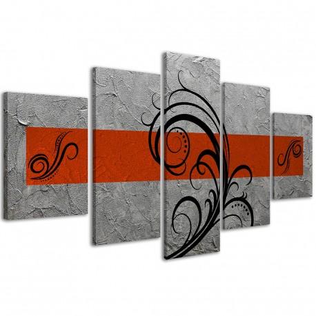 Abstract Essence Orange / 033 - 1