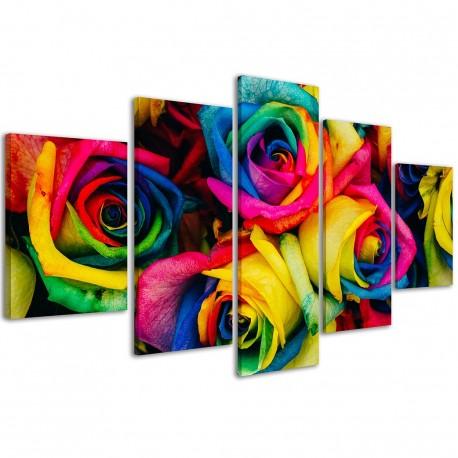 Rainbow Rose / 078 - 1
