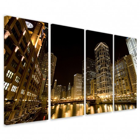 Chicago by Night II 160x90